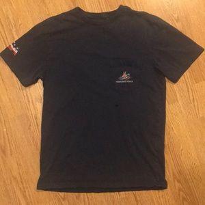 Vineyard Vines XS American boating tshirt